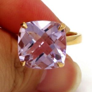 Tiffany & Co. 18k Purple Amethyst Ring